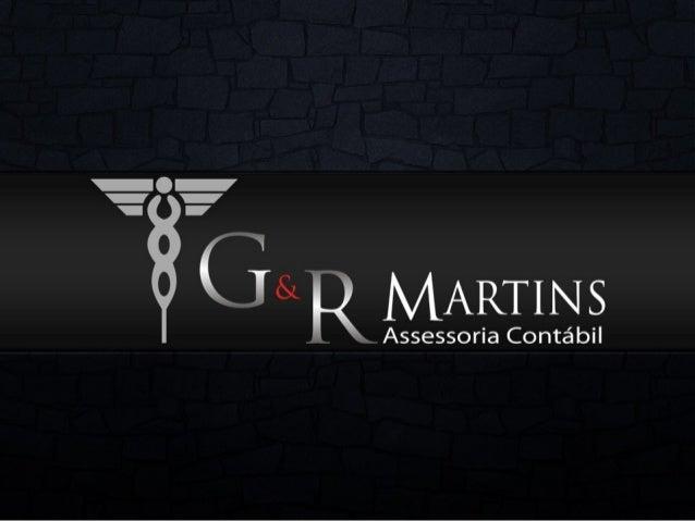 Apresentação G&R Martins