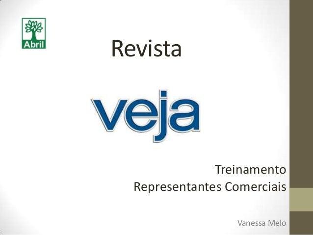 RevistaVanessa MeloTreinamentoRepresentantes Comerciais