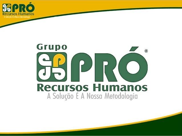 Grupo Pró Recursos Humanos