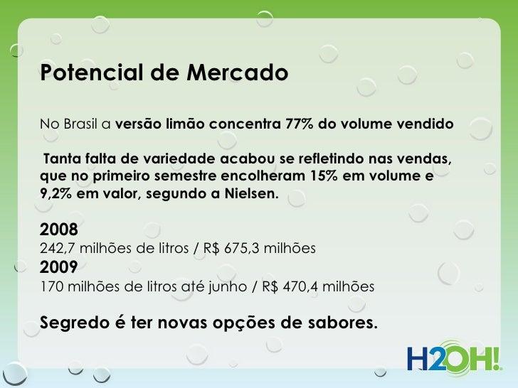 Potencial de MercadoNo Brasil a versão limão concentra 77% do volume vendidoTanta falta de variedade acabou se refletindo ...