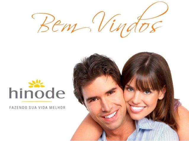 Hinode nova apresentação - plano de marketing