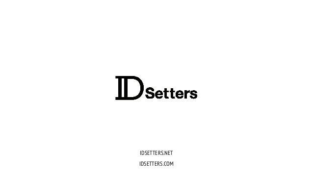 IDSETTERS.NET IDSETTERS.COM