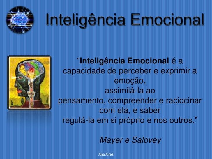 Apresentação Inteligência Emocional Slide 3