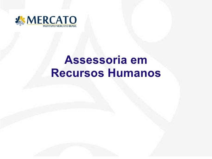 Assessoria em Recursos Humanos
