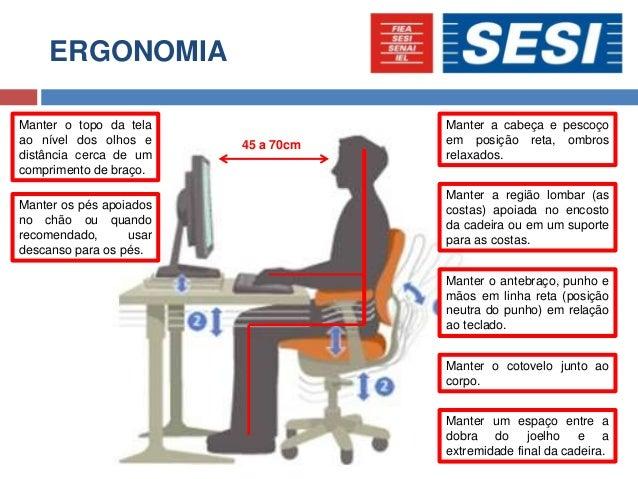 Artigo ergonomia no trabalho