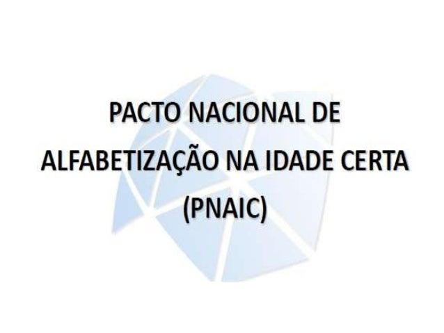 PNAIC EM SÃO PAULO          7ANOS