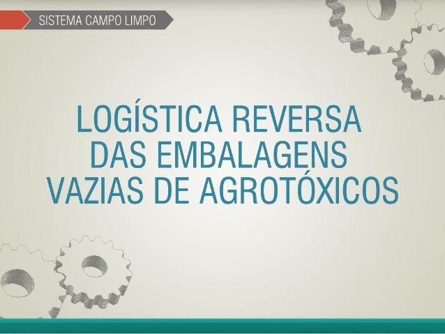 Destinação Final de Embalagens Vazias de Agrotóxicos – Modelo Mundial