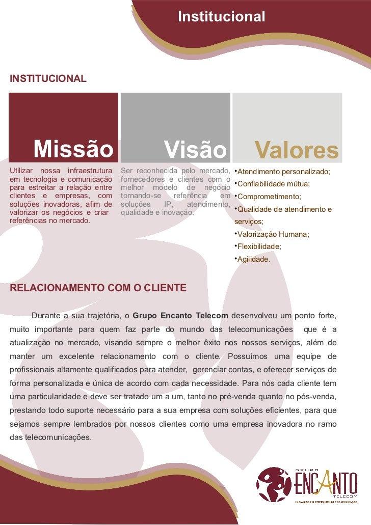 Apresentação Institucional Marketing