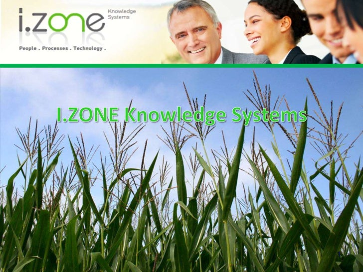 1<br />I.ZONE KnowledgeSystems<br />
