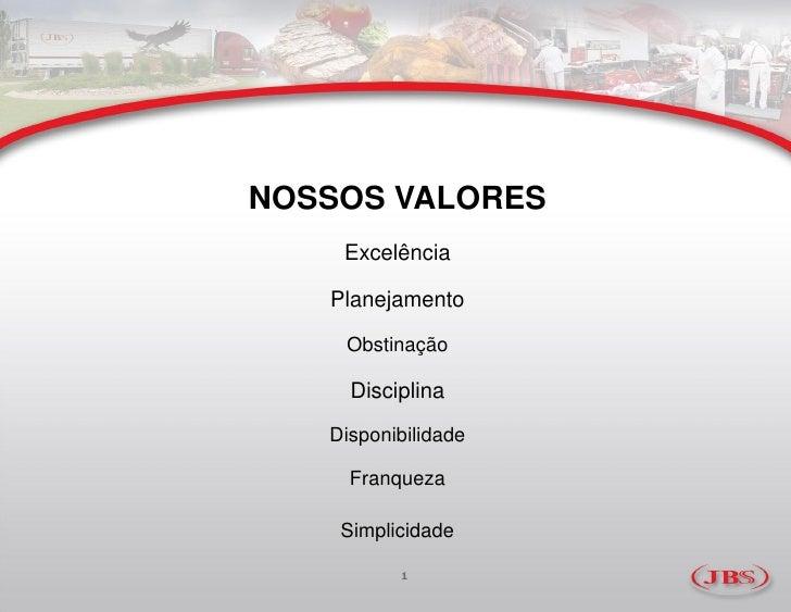ApresentaçãO  Jbs MarçO Slide 2