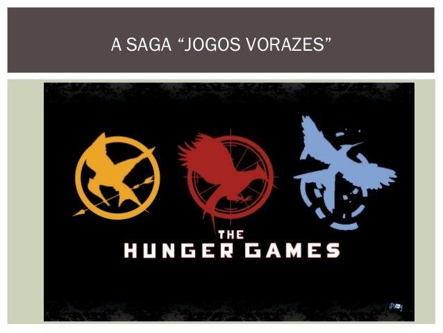 """A SAGA """"JOGOS VORAZES"""""""