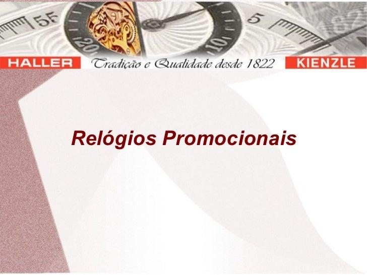 Relógios Promocionais