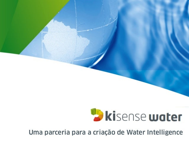 Uma parceria para a criação de Water Intelligence
