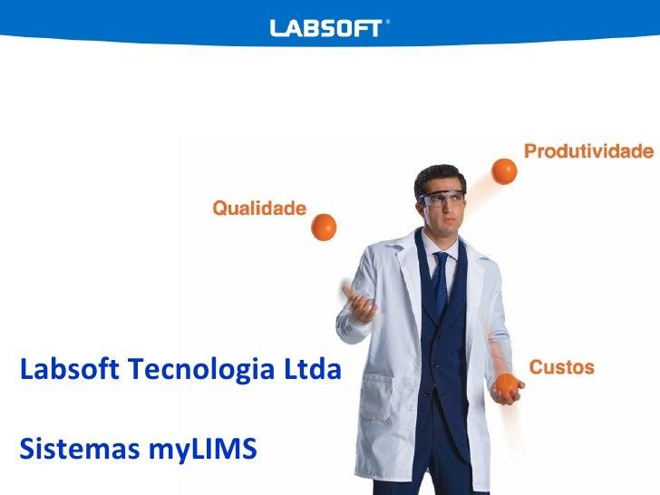 Labsoft Tecnologia Ltda Sistemas myLIMS