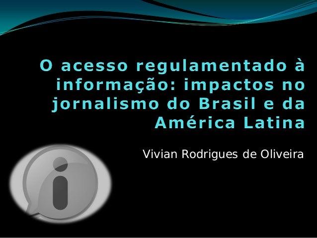 Vivian Rodrigues de Oliveira