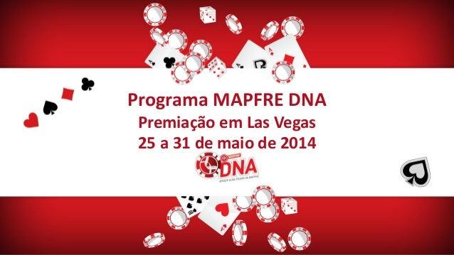 781e5d31948a6 Programa MAPFRE DNA Premiação em Las Vegas 25 a 31 de maio de 2014 ...