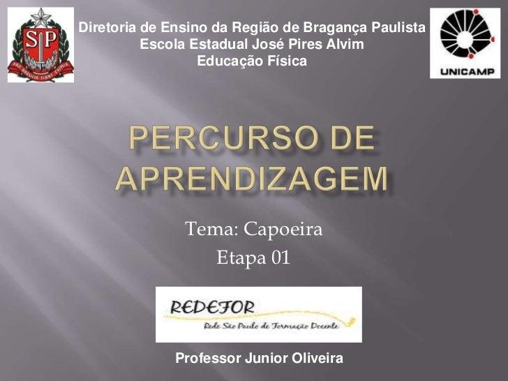 Diretoria de Ensino da Região de Bragança Paulista          Escola Estadual José Pires Alvim                  Educação Fís...