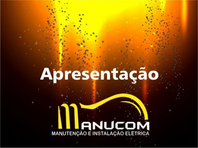 Apresentação Manucom