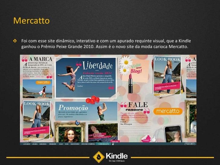 Apresentação mídia online - Kindle - All lines Slide 3