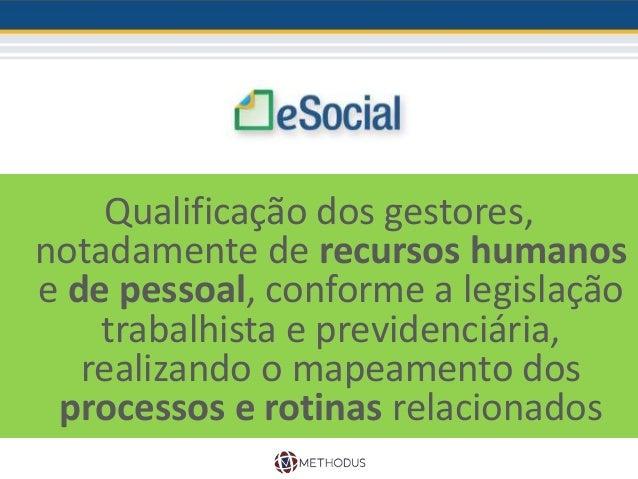 O momento de preparação para a implantação do eSocial é agora!