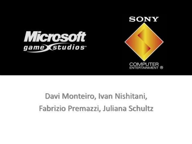 Davi Monteiro, Ivan Nishitani,Fabrizio Premazzi, Juliana Schultz