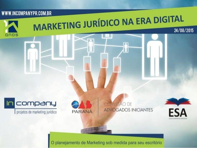 A In Company Assessoria de marketing para sociedade de advogados. A In Company atua desde 2005 com um conceito inovador: É...