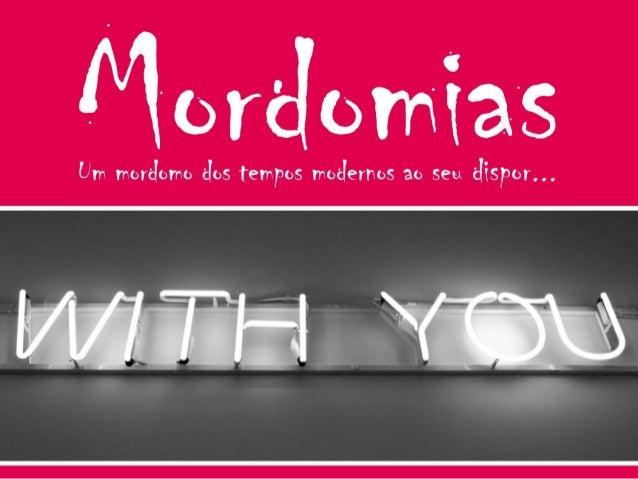 Quem somos: A Mordomias é uma empresa portuguesa, jovem, inovadora e dinâmica cuja missão/prioridade é proporcionar-lhe um...
