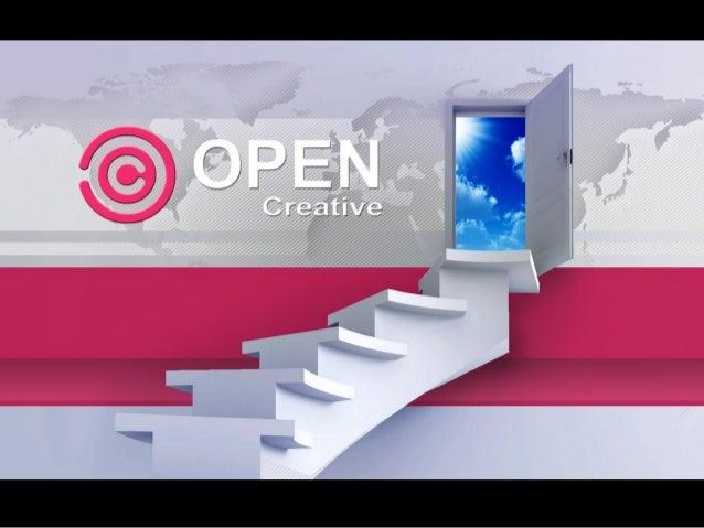 Apresentação completa Open Creative