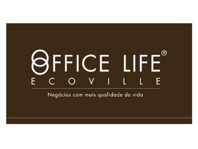 • O lançamento do edifício comercial Office Life,no bairro Ecoville, traz 171 salas comerciais e18 lojas, além de diversos...