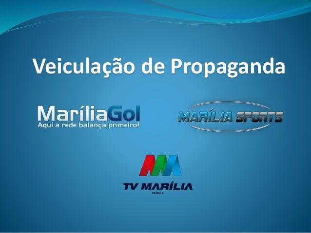 Veiculação de Propaganda