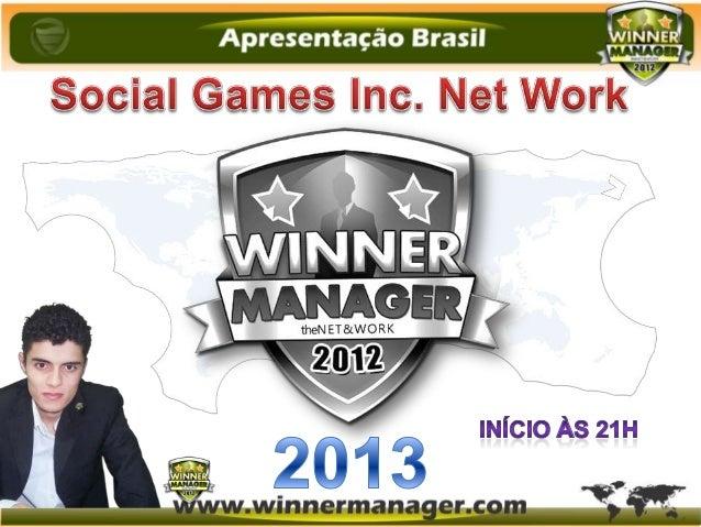 A Winner Manager oferece a seus                          usuários a possibilidade de receberem                           g...