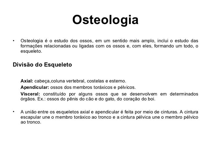 Apresenta o ossos da cabe a for O osso esterno e dividido em