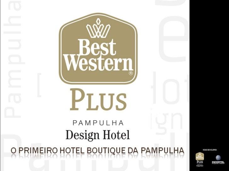 Apresentação pampulha design hotel