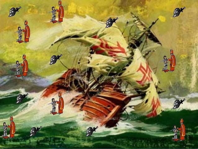 101, 1-2 «Já no batel entrou do Capitão / o Rei» O Rei [de Melinde] já entrou no batel do Capitão [Vasco da Gama] Hipérbato