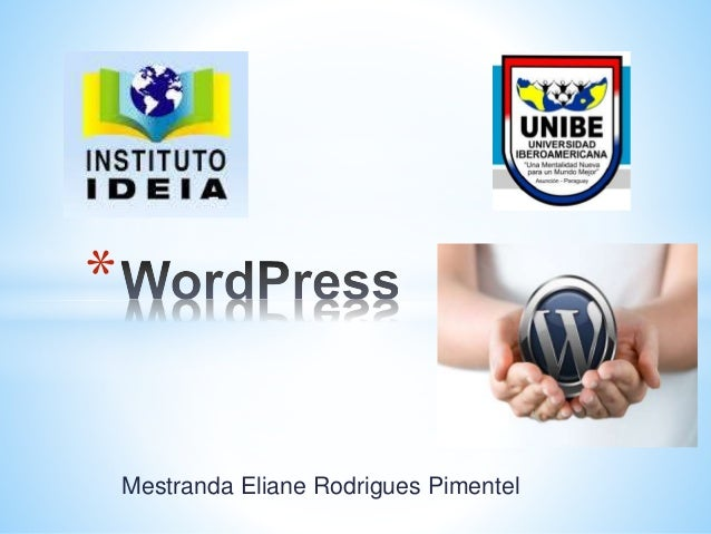 Mestranda Eliane Rodrigues Pimentel *