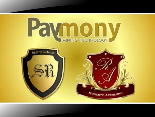 Apresentação Paymony _ Grupo Forte!!!