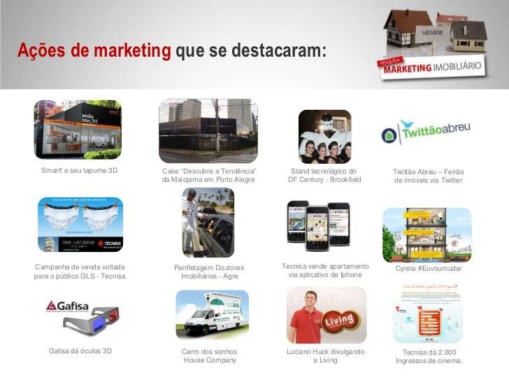 """Ações de marketing que se destacaram: <br />Smart! e seu tapume 3D<br />Case """"Descubra a Tendência""""<br />da Maiojama em Po..."""