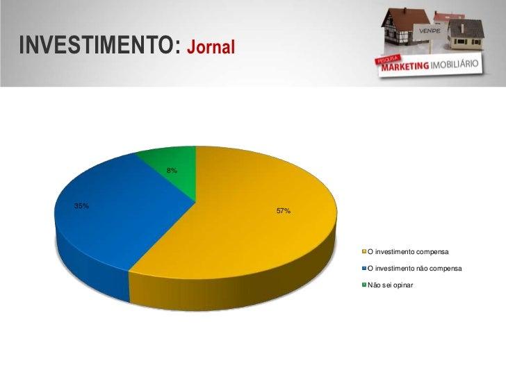 INVESTIMENTO: Jornal<br />O investimento não compensa<br />