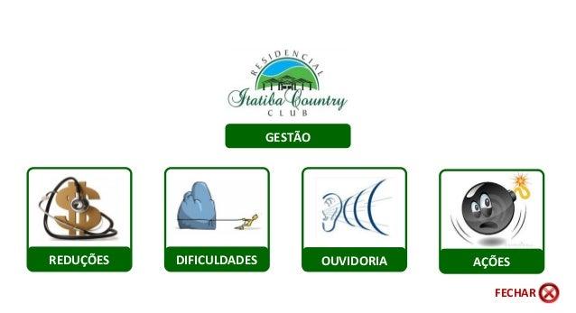 REDUÇÕES AÇÕESDIFICULDADES OUVIDORIA GESTÃO FECHAR