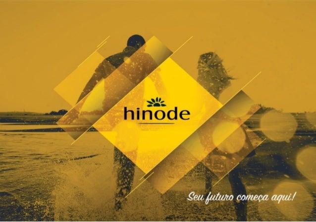 Apresentação Plano de Marketing Hinode