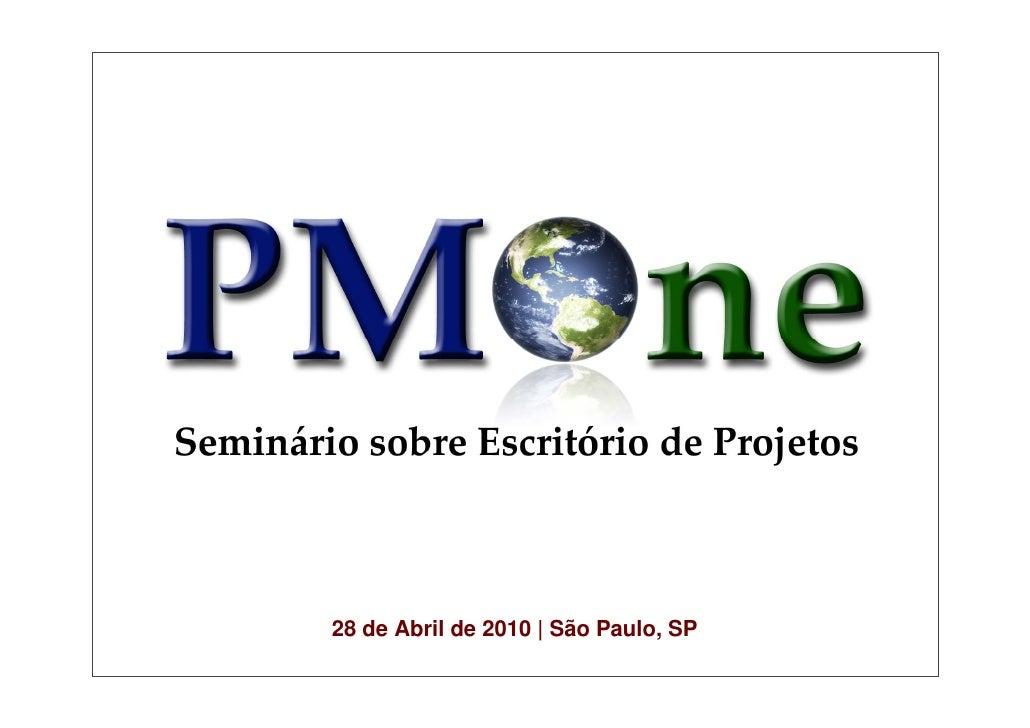 28 de Abril de 2010   São Paulo, SP