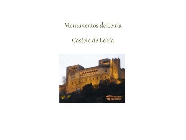 Monumentos de Leiria Castelo de Leiria