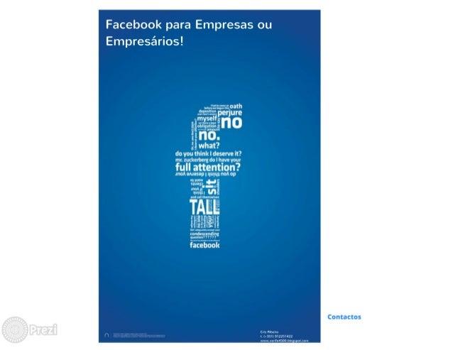 Apresentação Facebook para Empresas Slide 2
