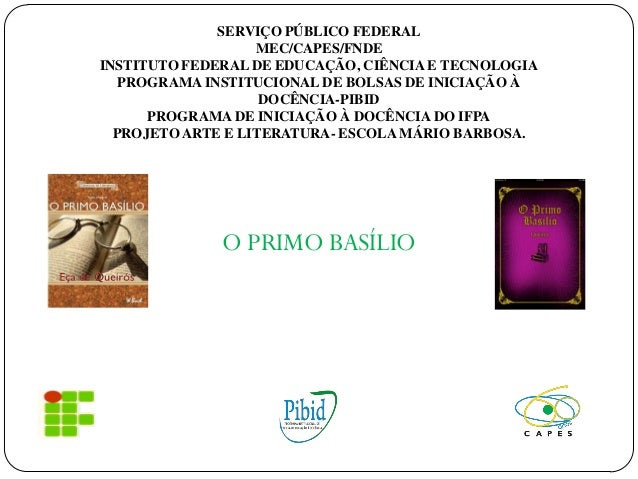 SERVIÇO PÚBLICO FEDERAL MEC/CAPES/FNDE INSTITUTO FEDERAL DE EDUCAÇÃO, CIÊNCIA E TECNOLOGIA PROGRAMA INSTITUCIONAL DE BOLSA...