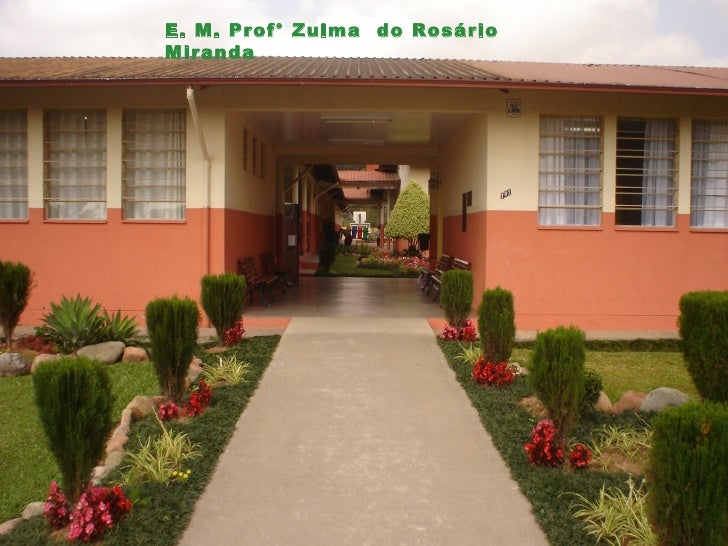 E. M. Prof° Zulma do RosárioMiranda