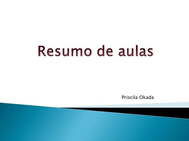 Priscila Okada