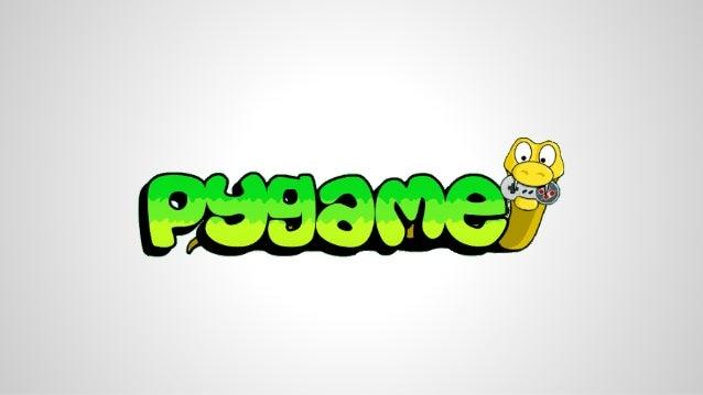O que é?  Pygame é uma biblioteca de jogos  multiplataforma, feita para rodar em conjunto  com a linguagem python.  2