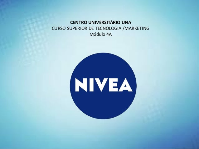marketing nivea Marketingcommunicationanalysis  siriwansiriwangsanti  executive  summary nivea is the first brand and most important brand of.