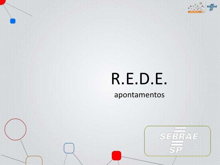 R.E.D.E.apontamentos<br />