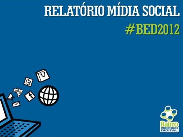 Sebrae Bairro Empreendedor 2012 | #bed2012
